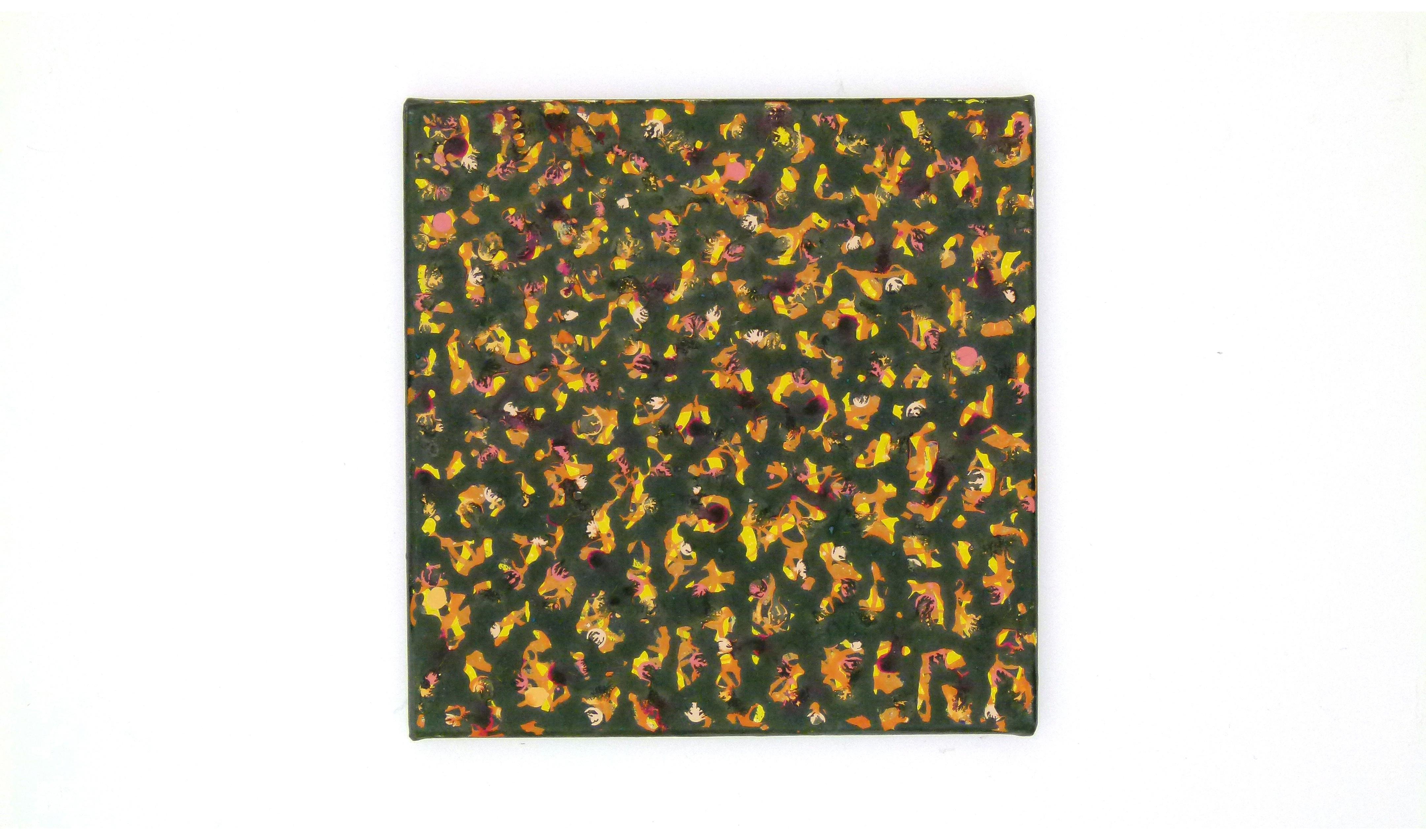 Farbige Tusche auf Leinwand 2007_0000_L1100044a