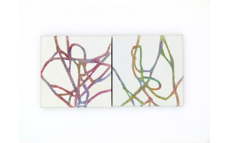 Farbsitft und Acryl auf Leinwand 2011_0000s_0000_L1130871a