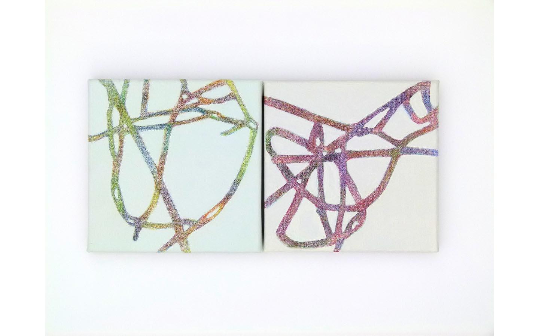 Farbsitft und Acryl auf Leinwand 2011_0000s_0002_L1130869a