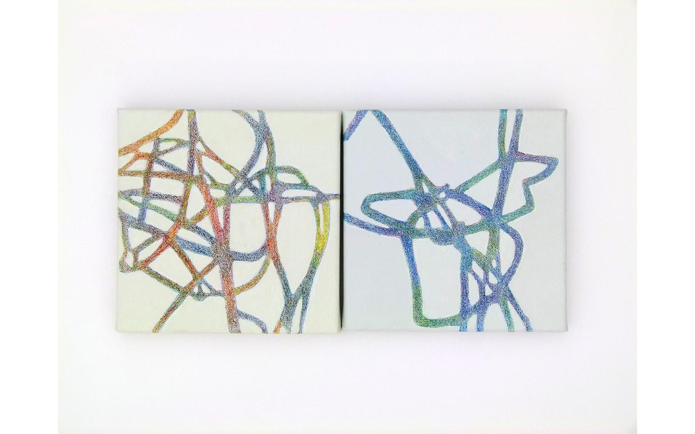 Farbsitft und Acryl auf Leinwand 2011_0000s_0004_L1130867a