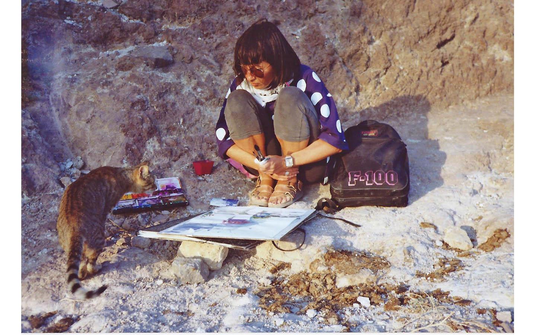 Kythira - Milos, Griechenland - 1992_0019_1992 Milos 1a